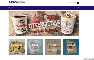 diseño de tienda online regalos fotolienzos