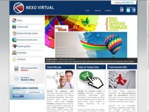 diseño web Nexo Virtual