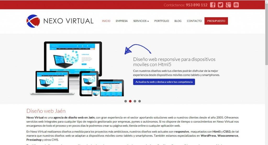 diseño de pagina web responsive wordpress