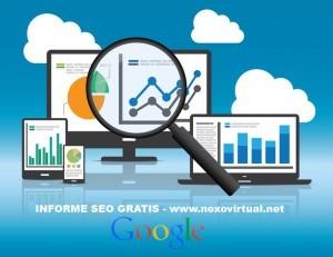 informe seo gratis - posicionamiento web Google