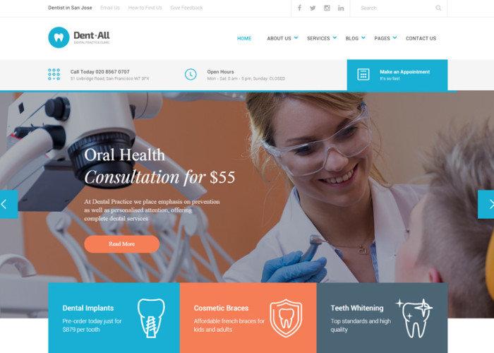 web clinicas dentales