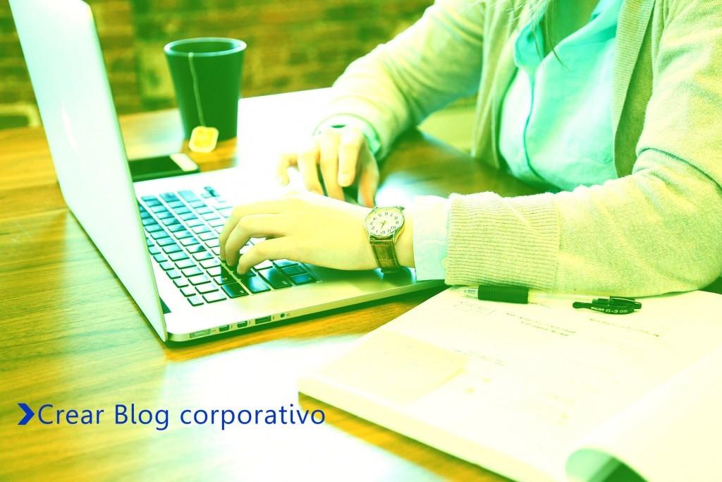 crear blog corporativo