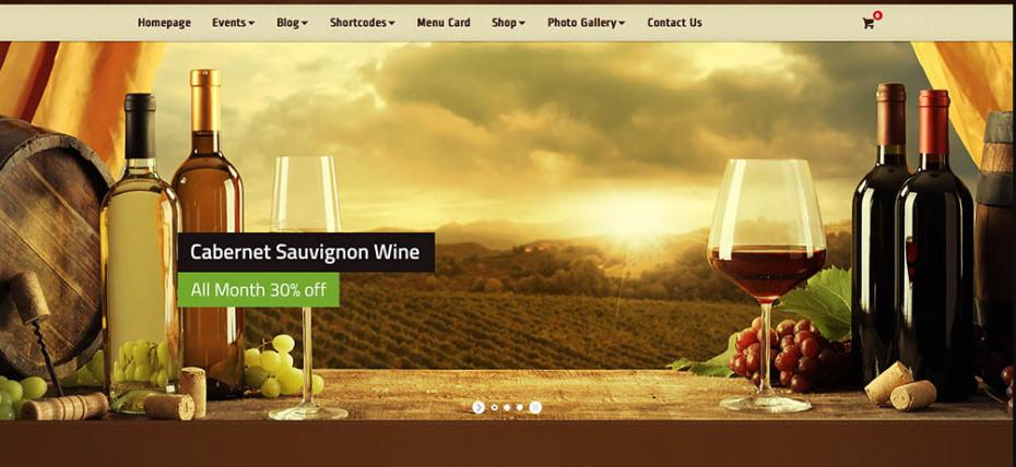 diseño de la mejor tienda de vinos online