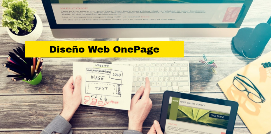 diseño web onepage