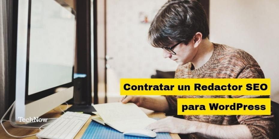 Contratar redactor SEO Web WordPress