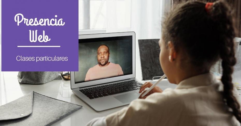 diseño web para impartir clases particulares online