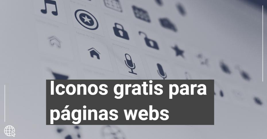 iconos gratis paginas webs
